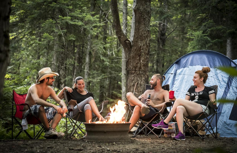 Base plein air - camping Baie des sables
