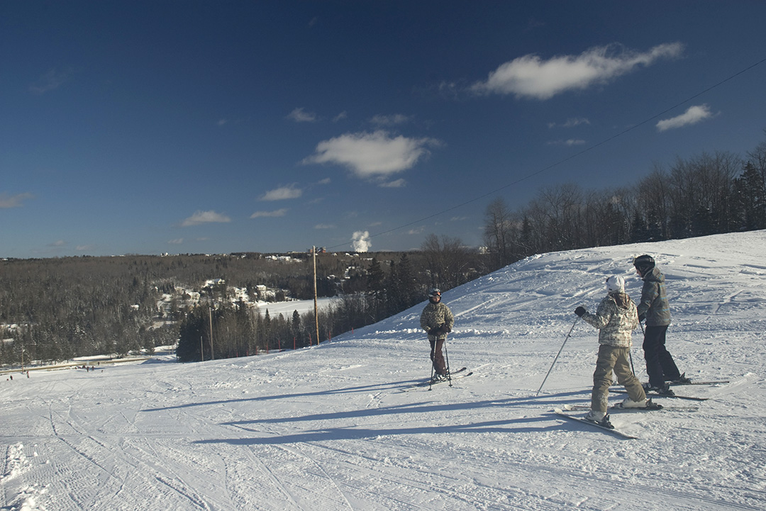 Ski alpin Baie-des-sables