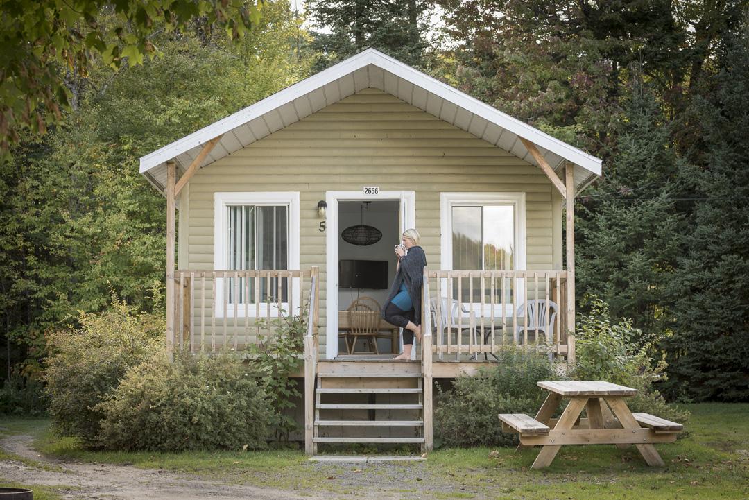 Chalets et chambres – Station touristique Baie des sables
