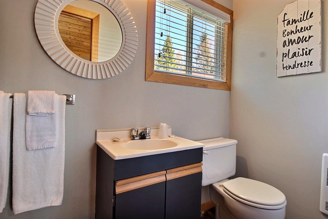 Salle de bain – Chambre #4